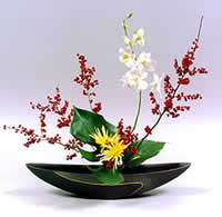 Ikebana Arte Japones Del Arreglo Floral Imperio Anime