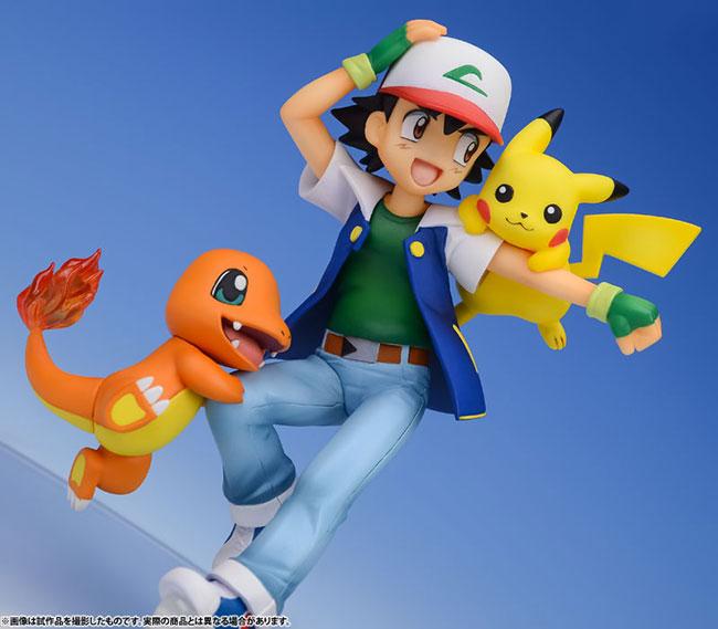 Pokémon Ash Pikachu Y Charmander G E M Series Imperio Anime