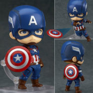 Capitán América «Hero's Version» – Nendoroid